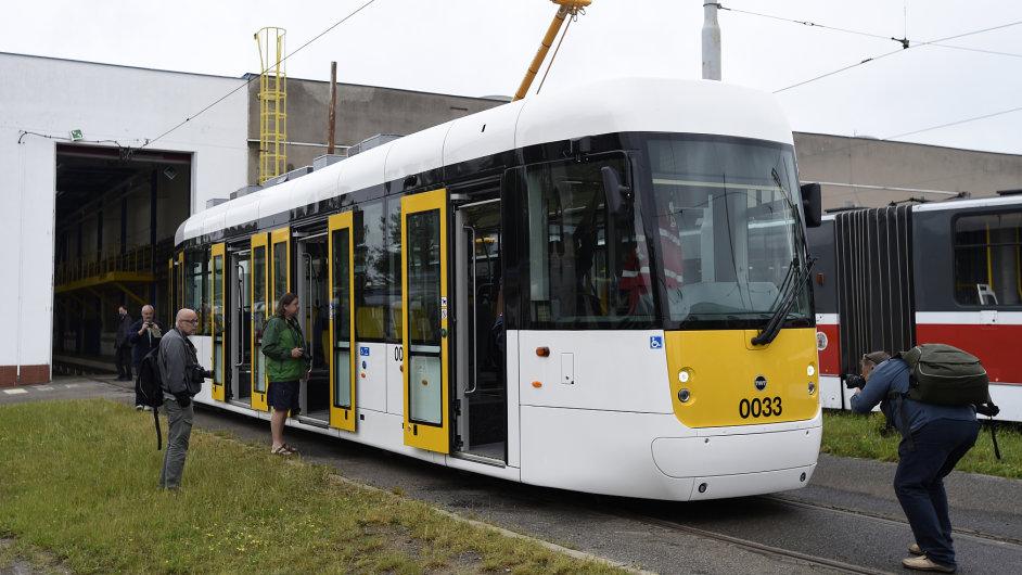Tramvaj typu EVO1