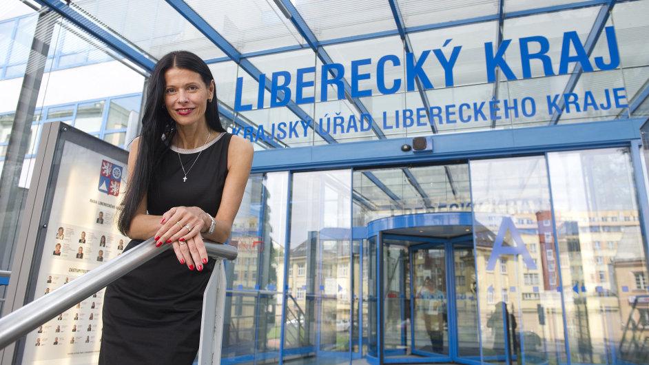 Šéfka liberecké ČSSD Lenka Kadlecová