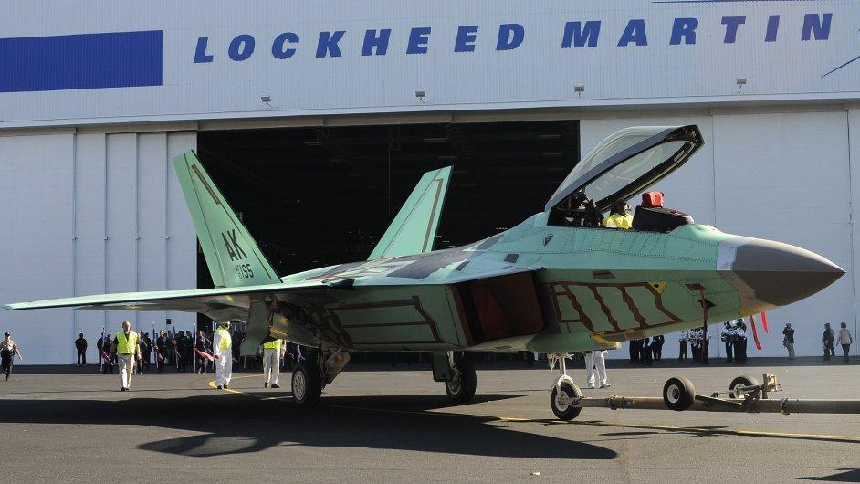 F-22 Raptor - ilustrační foto