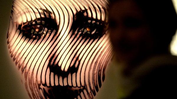 Snímek z výstavy Miloty Havránkové
