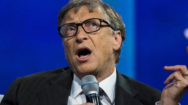 V prvních měsících roku hodnota Gatesova majetku klesla na dvouletá minima kolem 76 miliard dolarů.