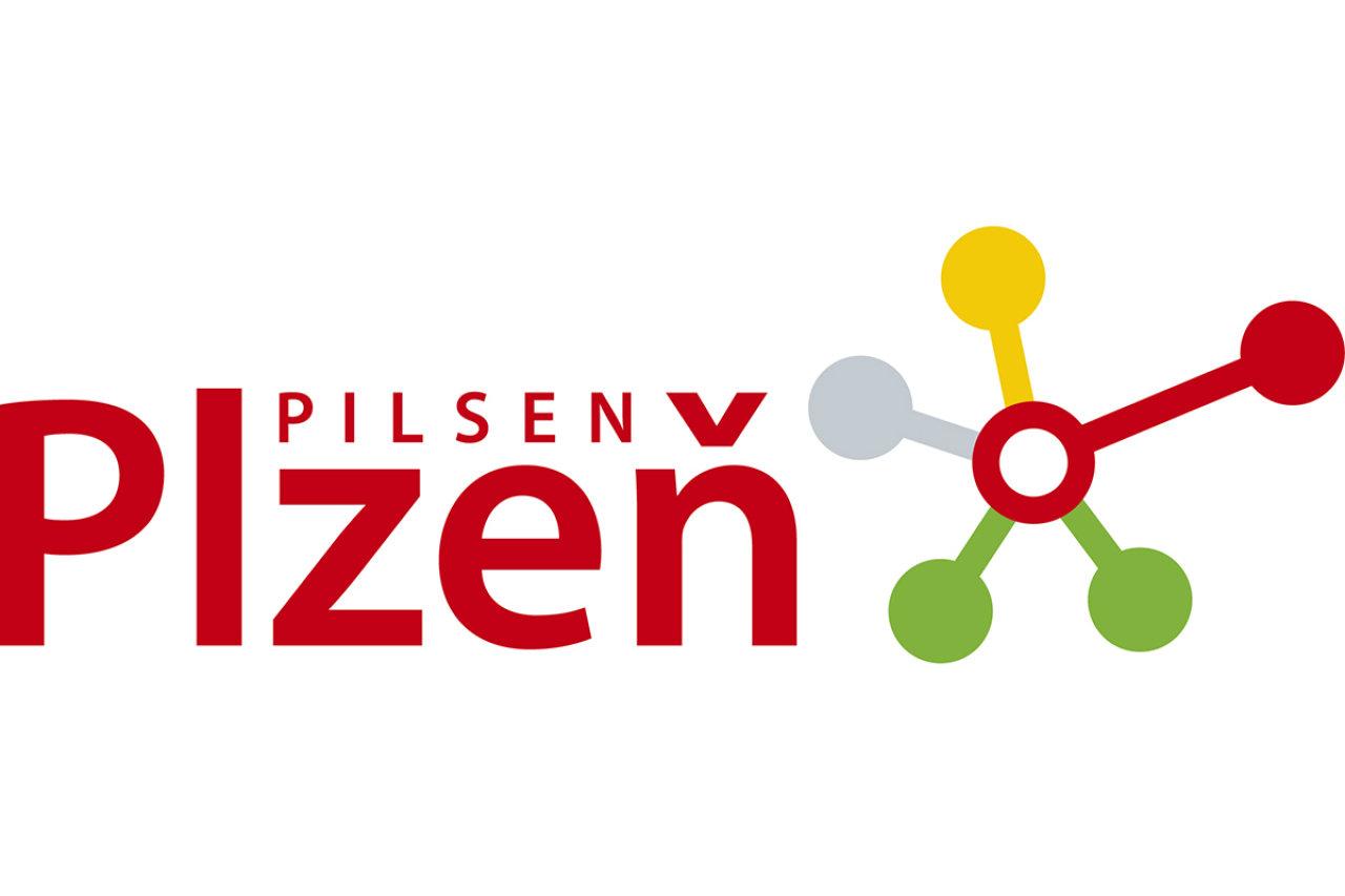 Logo Plzně využívané v letech 2009 - 2012