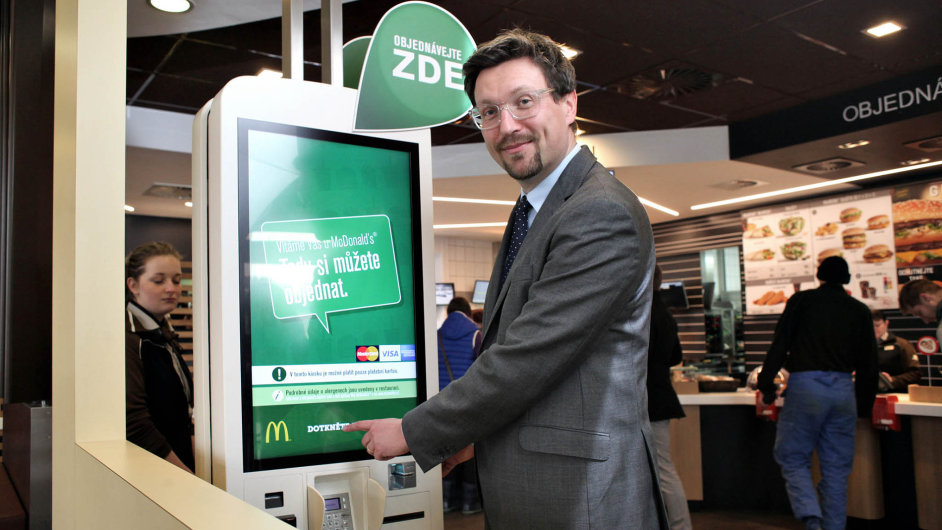 Ředitel pro rozvoj českého McDonald'sPetr Vávra