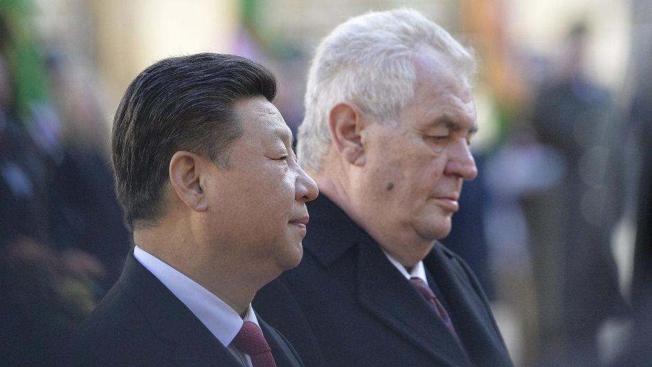 Miloš Zeman navštívil Čínu už čtyřikrát.
