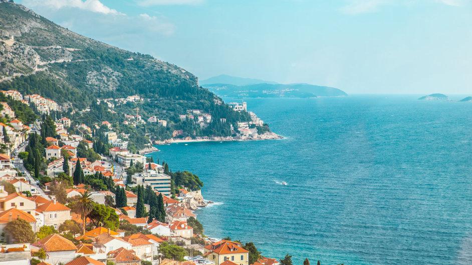Chorvatsko pláž dovolená