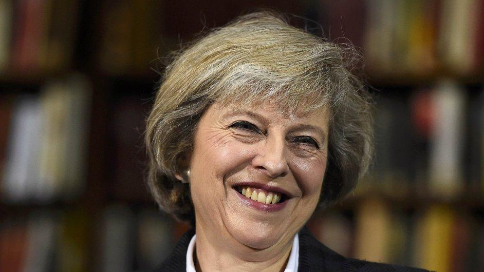 Britská ministryně vnitra Theresa Mayová.