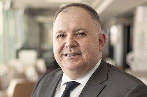 Ninoslav Vidovič, ředitel obchodního oddělení hotelů Hilton Prague a Hilton Prague Old Town