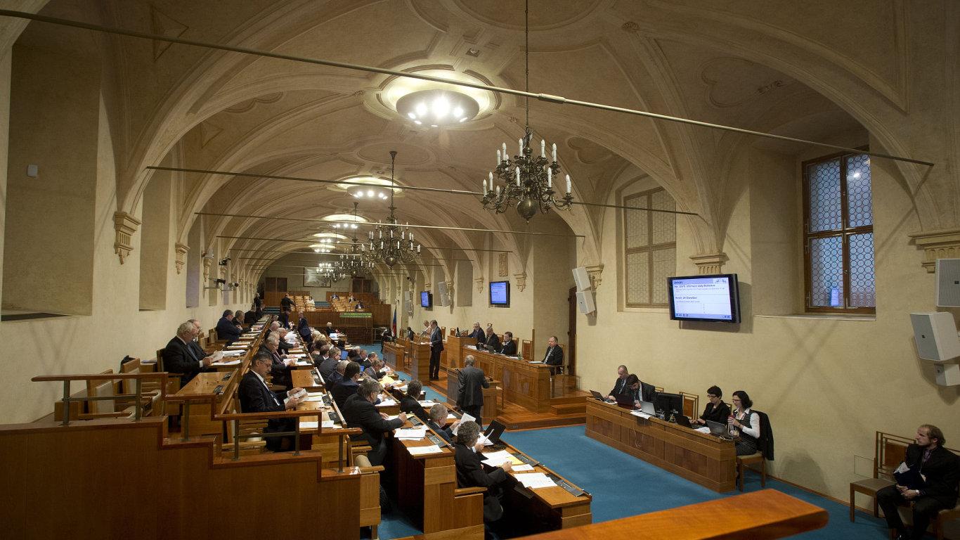 Senát, schůze
