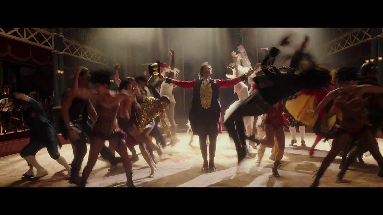 Snímek z filmu The Greatest Showman.