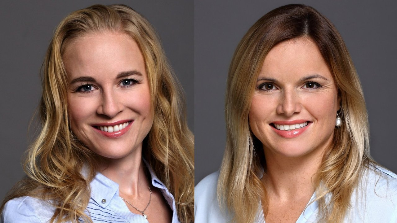 Michaela Zvadová, Senior Leasing Consultant a Kateřina Boučková, Leasing Consultant společnosti CBRE
