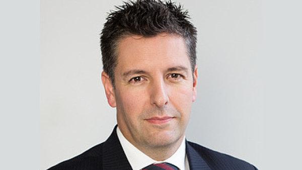 Richard Keery, generální ředitel HSBC v České republice