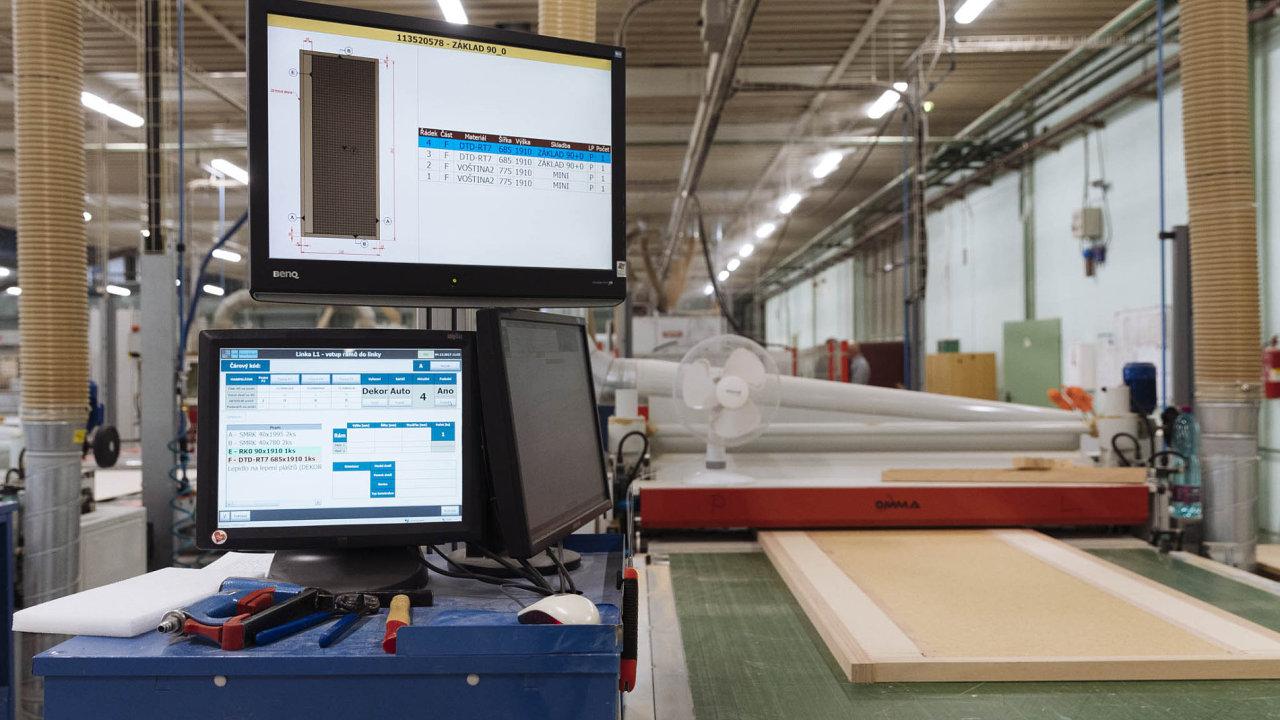 Jihlavská firma Sapeli působí na trhu už 25 let a je jedničkou mezi výrobci dveří.