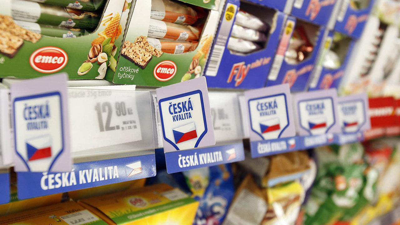 Penny Market označoval začeské izahraniční výrobky. To se má nyní změnit.