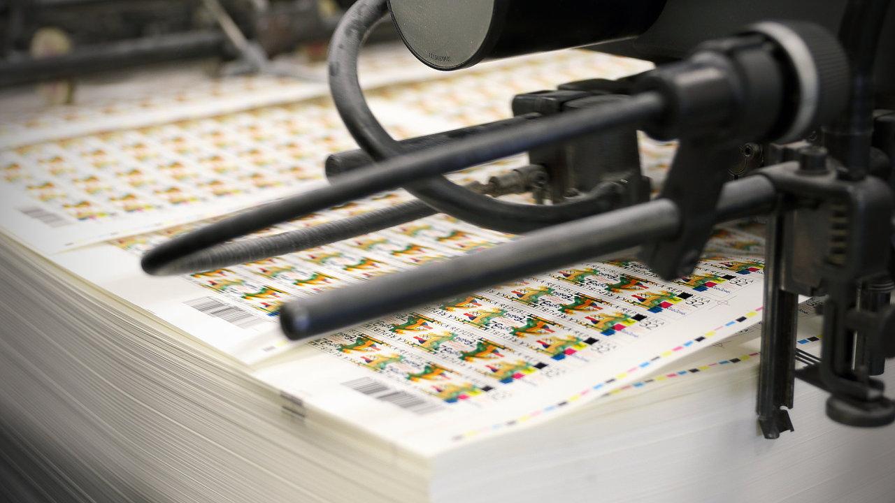 Poštovní známka s tématem letní olympiády v Riu de Janeiru. Nátisk známky a obálky prvního dne (FDC) vydávaných k letní olympiádě proběhl v květnu v Poštovní tiskárně cenin v Praze. Praha