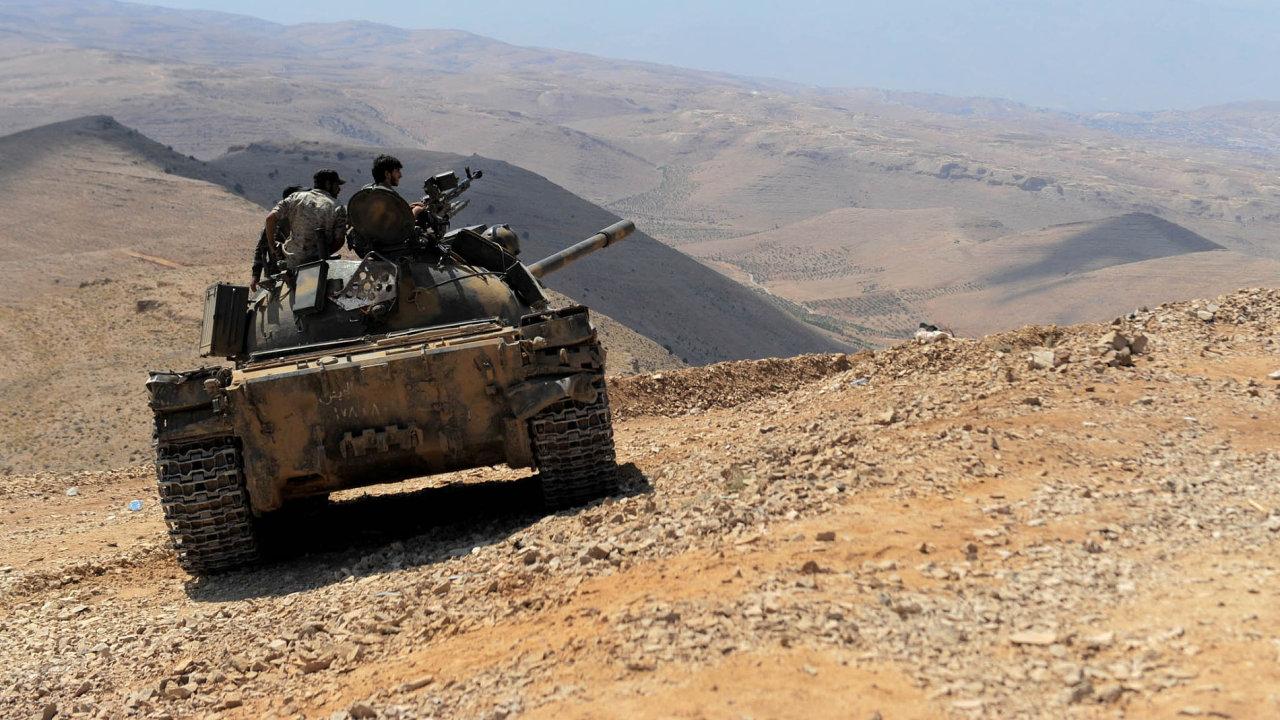 Syrská armáda, loajální Bašáru Asadovi, byla uvedena do pohotovosti v souvislosti s možným americkým útokem.