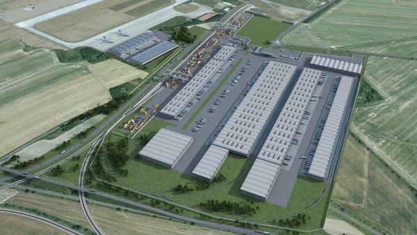 U ostravského letiště vzniká nový logistický areál.
