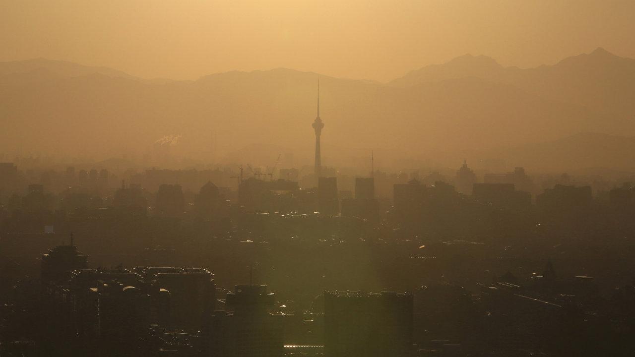 Znečištěné ovzduší v Číně