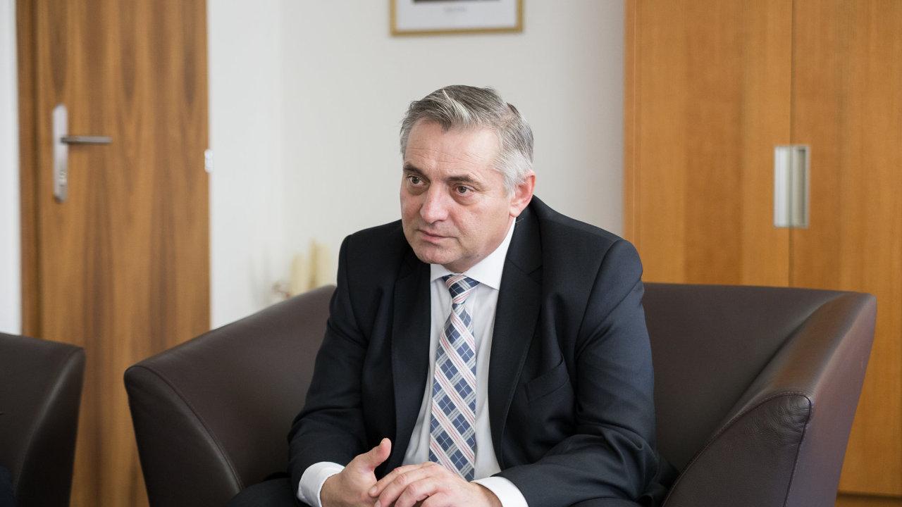 Petr Rafaj, předseda antimonopolního úřadu