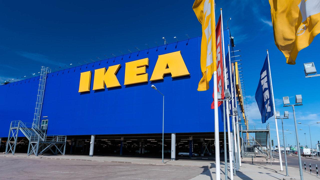 Obchodní dům Ikea.