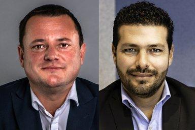 Miroslav Kotek a Manuel Pérez Cascajares,oddělení průmyslových nemovitostí Design & Build Colliers International v České republice