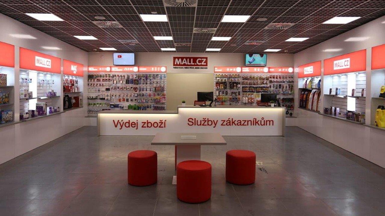 Výdejna a prodejna Mall.cz v Nových Butovicích