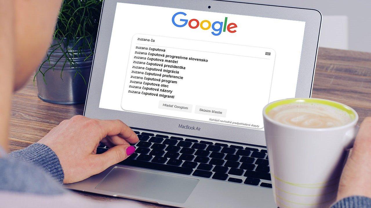 Google napoví, co lidi o kandidátech zajímá, ale jako prognostik se neosvědčil.
