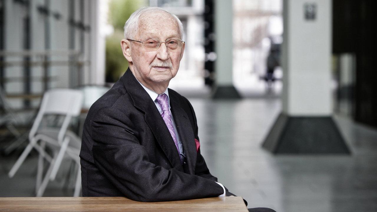 Gerhardt Bubník, bývalý krasobruslař, elitní právník a první československý absolvent práv na Harvardu.