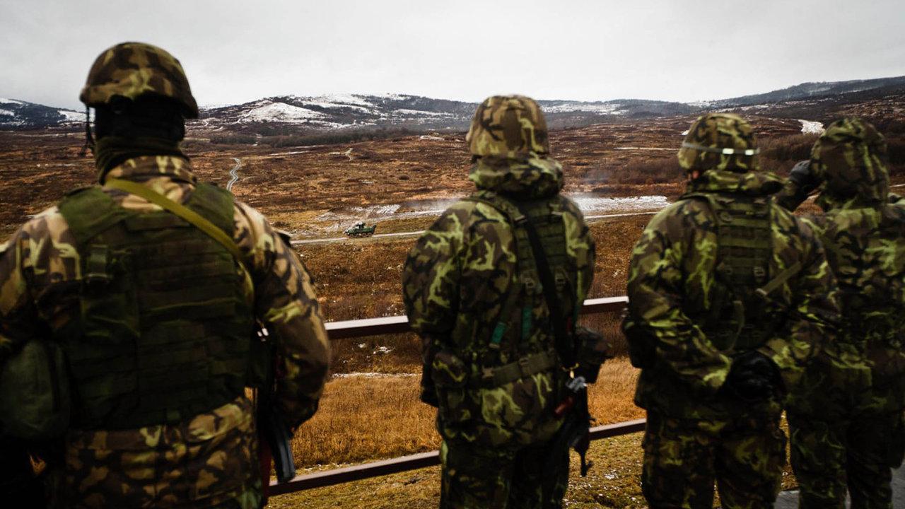 Čeští vojáci na cvičení – Ilustrační foto