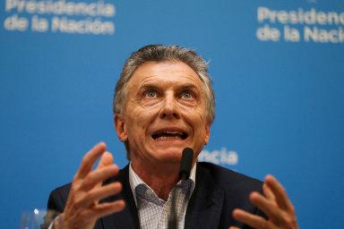 """""""Propad naburze byl jen ochutnávkou toho, čeho se Argentina dočká, pokud opozice vyhraje volby,"""" prohlásil argentinský pravicový prezident Mauricio Macri."""