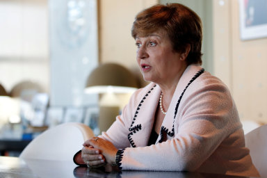Nová ředitelka Mezinárodního měnového fondu Kristalina Georgievová.