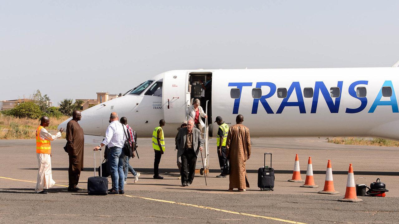 Stavba regionálních letišť má propojit odlehlejší oblasti Senegalu azapojit je dodopravy vzápadní Africe.