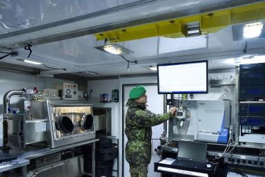Chemici jsou špička. Příslušníci 31. pluku radiační, chemické abiologické ochrany zLiberce se osvědčili inamezinárodních misích.