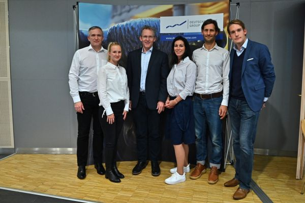 S Armin Borriesem, generálním manažerem Clearstream Operations Prague