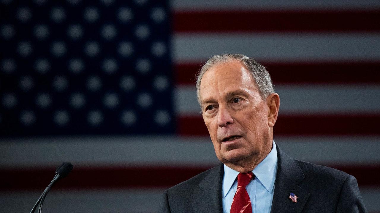 Miliardář Mike Bloomberg působil dvanáct let jako starosta New Yorku. Nyní se uchází o post amerického prezidenta.