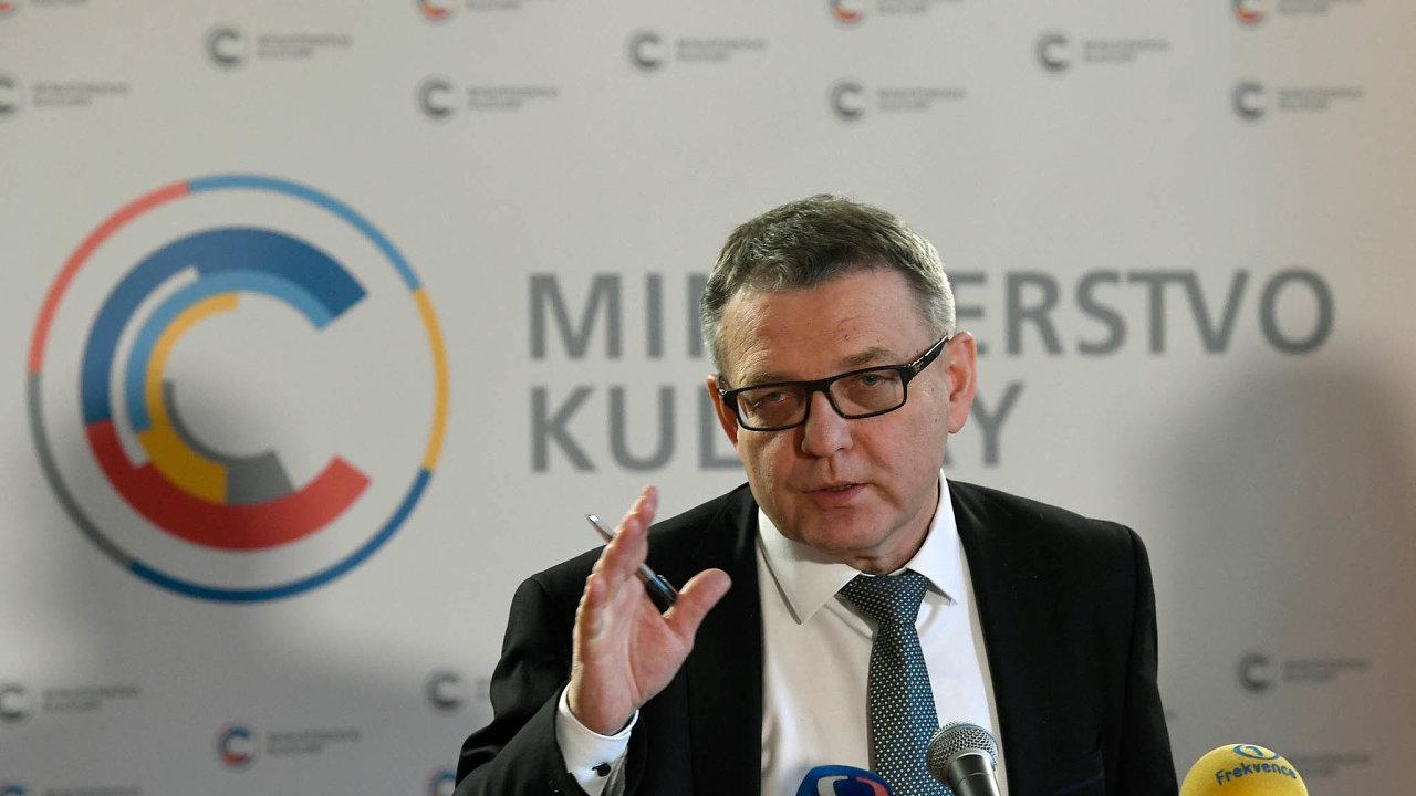 Místo, které nechce opustit. Lubomír Zaorálek překvapil svoje spolustraníky z ČSSD včetně předsedy Jana Hamáčka, z ministerstva kultury na zahraniční věci jen tak odejít nechce.