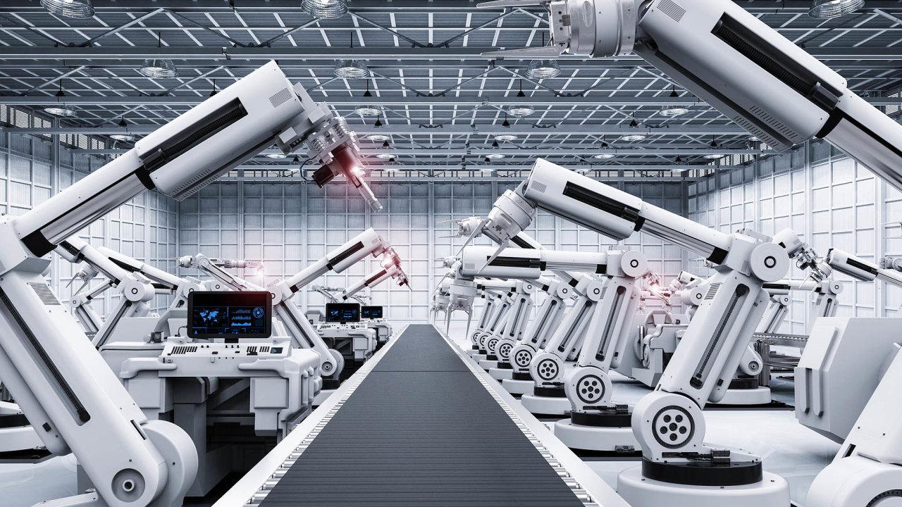 Česko je zaměřené zvelké části nastrojní výrobu, vEvropě patří mezi země nejvíce ohrožené robotizací. Celkové odhady hovoří otom, že dodvaceti let zmizí ztrhu zhruba 400 tisíc pracovních míst.