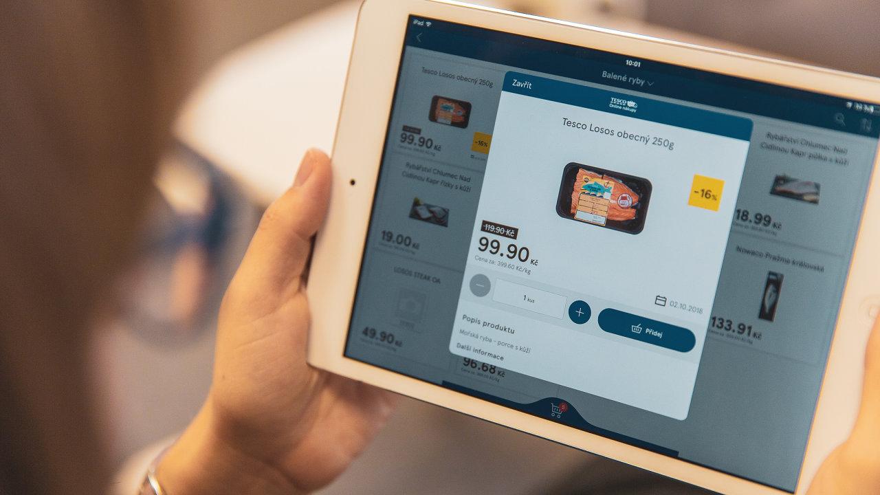 Již zavedená služba Tesco on-line nákupy je dostupná pro miliony potenciálních zákazníků.