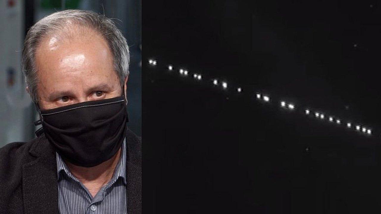 Lidi straší, astronomy zlobí: Vesmír není na hraní, kritizuje Muskovy družice Suchan