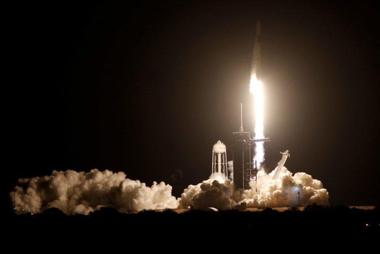 raketa, Falcon 9, ISS, vesmír