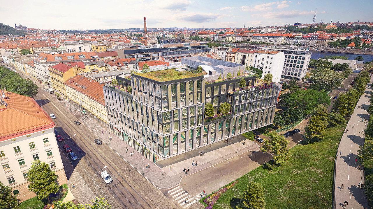 Administrativní budova Viadukt Anděl bude stát napražském Smíchově.