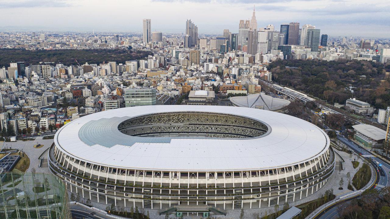 Moderní olympijský stadion v Tokiu vyrostl na místě toho, kde se konaly hry v roce 1964.