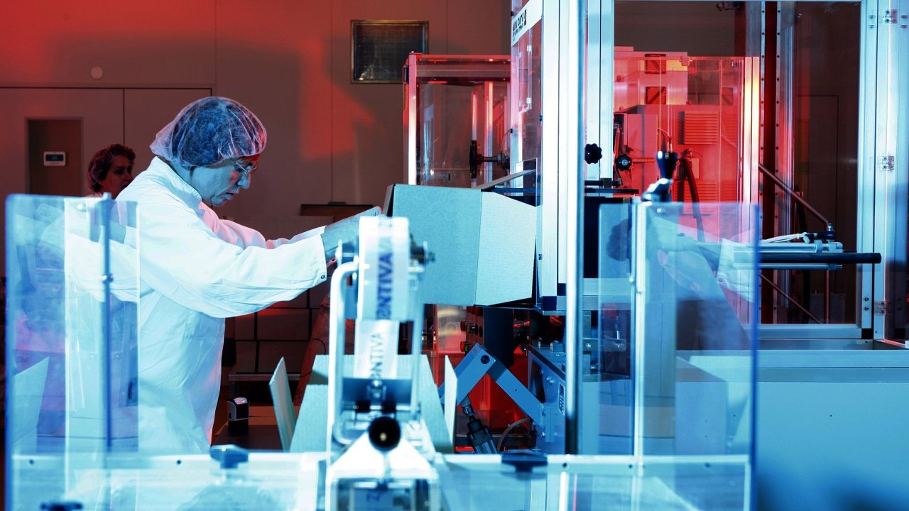 Laboratoř - ilustrační foto