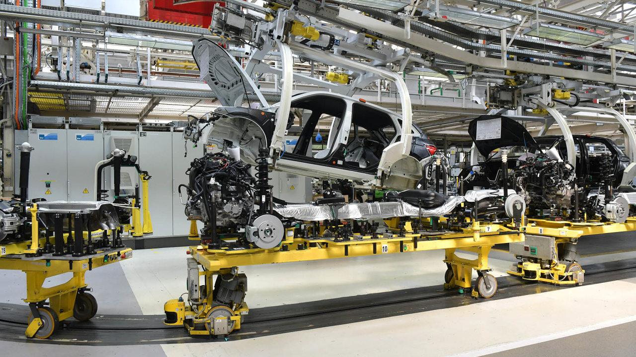 Škoda auto, výroba