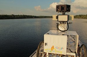 Google Street View zmapuje Amazonku a Rio Negro, trojkolkou a lodí