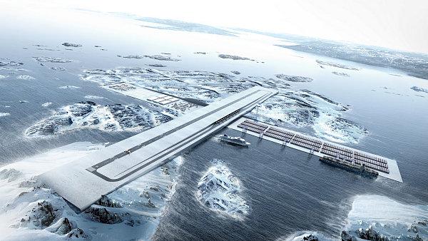 Projekt Air+Port počítá s využitím pro mezinárodní dopravu mezi Evropou a Amerikou