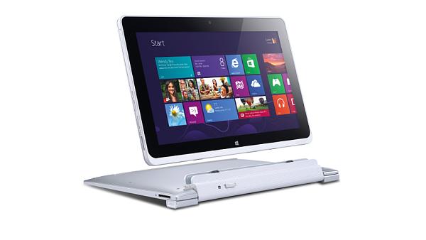 Hybridní tablet Acer Iconia W510 -  nejlevnější tablet s Win 8 v ČR