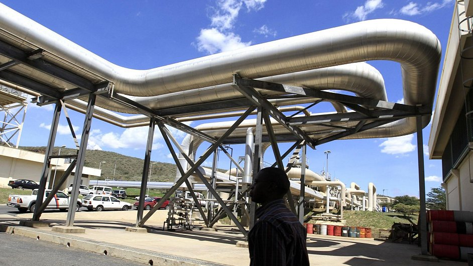 Plynové potrubí. Ilustrační foto