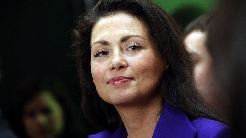 Jana Bobošíková jde do voleb s uskupením Hlavu vzhůru.