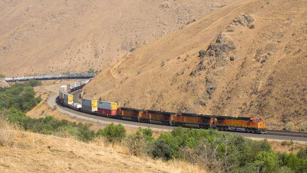 Vlak spole�nosti BNSF