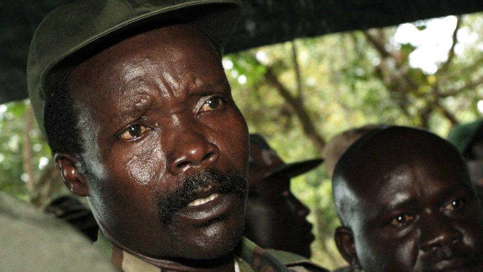 Vůdce guerillové Armády božího odporu Joseph Kony